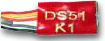 DS51K1 Decoder fits Kato Unitrak Switch