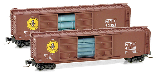 "50' Standard Box Car Double Door ""New York Central"" 45335"