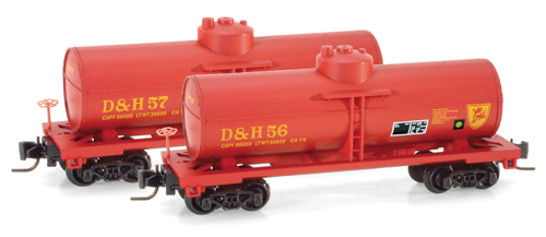 "40' Single Dome Tank Car der""D&H"" # 57"