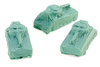 WWII Covered Army Tank (3-pack)