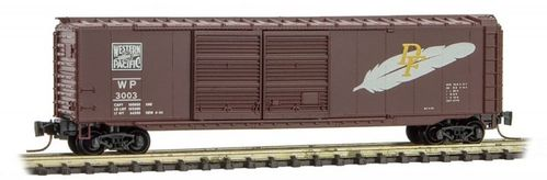 Western Pacific® 50' Standard Box Car Double Door #3003