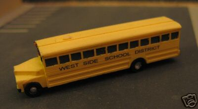 School Bus WEST SIDE SCHOOL DISTRICT