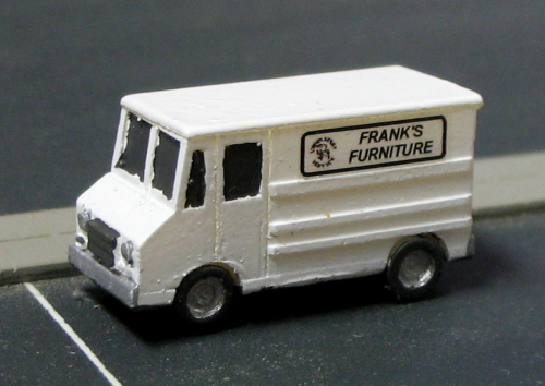 Step Van Delivery Truck FRANK'S FURNITURE