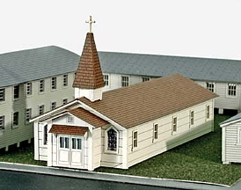 Laser Cut Military Chapel Kit