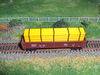 40' BANDED PIPE LOAD, YELLOW