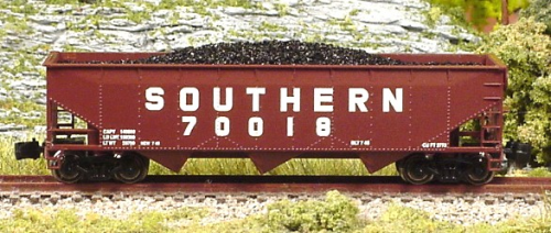 70-Ton Hopper Southern Set #1