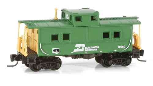 "Steel Caboose ""Burlington Northern"""