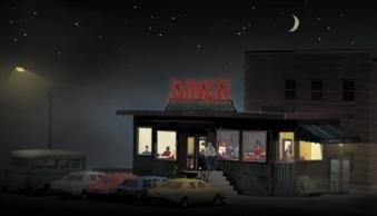 Diner interior and Lighting kit
