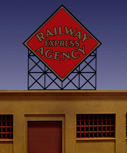 Railway Express Agency Billboard