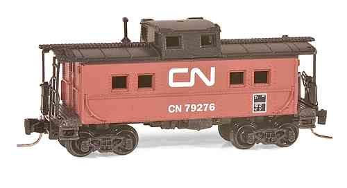 Steel Caboose Canadian National