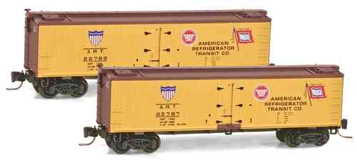 Wood Reefer American Refrigerator Transit Co. ART 22787