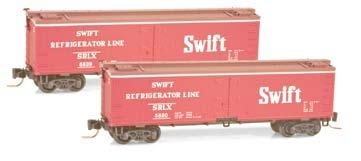 Wood Reefer Swift Refrigerator Lines SRLX 5820