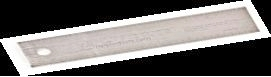 Z English/Metric Scale Ruler