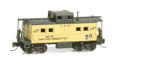 Steel Caboose Chicago & North Western® 10801