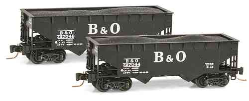 B&O 33' smooth side twin bay open hopper 727044