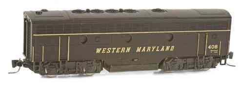 F7-B POWERED Western Maryland #408
