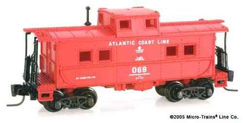 "RARE! Steel Caboose ""Atlantic Coast Line"" 069"