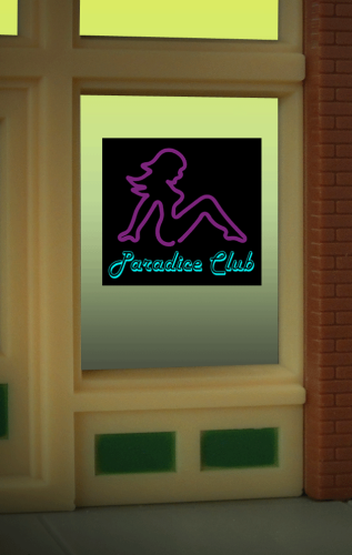 Window Sign PARADICE