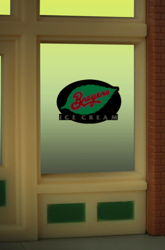 Window Sign BREYERS