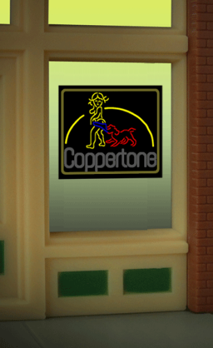 Window Sign COPPERTONE