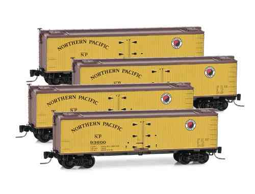 December 2013 Northern Pacific Runner 4-Pack