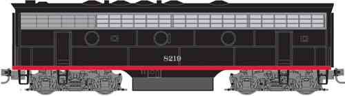 F7-B Southern Pacific® #8219 - POWERED