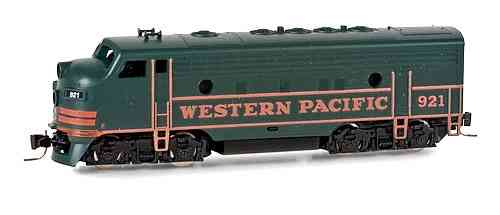 F7-A  Western Pacific #921 - dark green