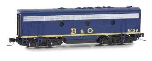 F7-B  Baltimore & Ohio #4529