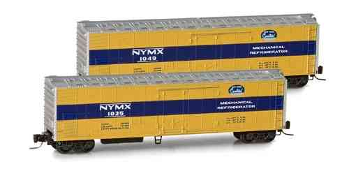 New York Central 51' Rivet Side Mechanical Reefer NYMX 1025