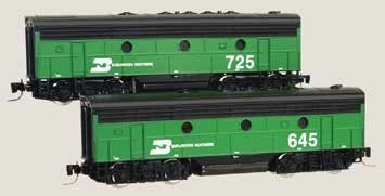 Burlington Northern F7B 645