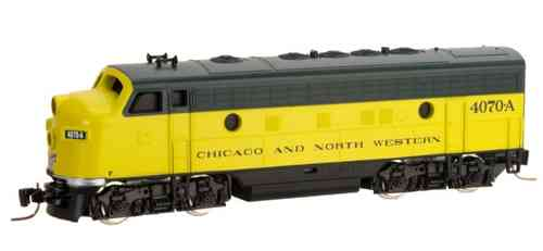 Chicago & North Western F7A 4072A