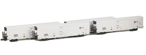 Union Pacific/ARMN Trinity 64' Reefer - 4-Pack Version 1