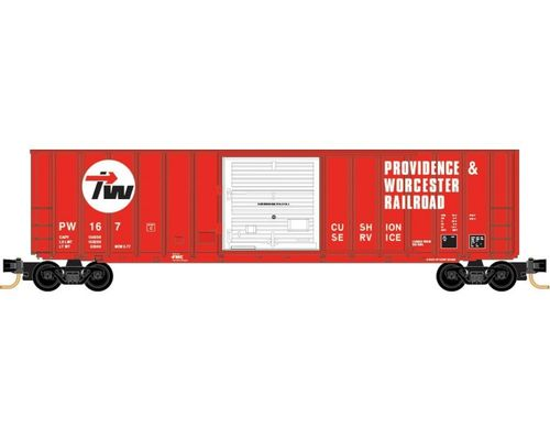 Providence & Worcester 50' Rib Side Box Car #PW 167