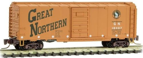 Great Northern 40' Single Door Box Car #18007 Circus Series #1