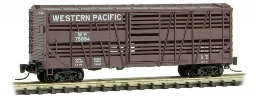 Western Pacific 40' Stock Car #76031