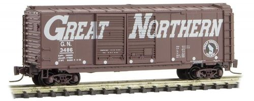 Great Northern 40' Double Door Box Car #3486 Circus Series #2