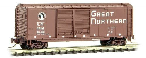 Great Northern 40' Double Door Box Car #3484 Circus Series #5