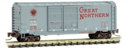 Great Northern 40' Double Door Box Car #3345 Circus Series #4