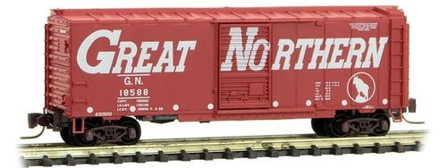 Great Northern 40' Single Door Box Car #18588 Circus Series #7