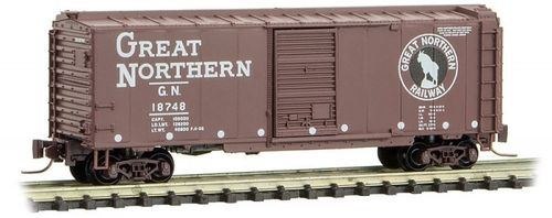 Great Northern 40' Single Door Box Car #18748 Circus Series #8