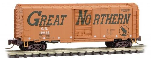 Great Northern 40' Single Door Box Car #19038 Circus Series #9