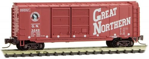 Great Northern 40' Double Door Box Car #3249 Circus Series #10