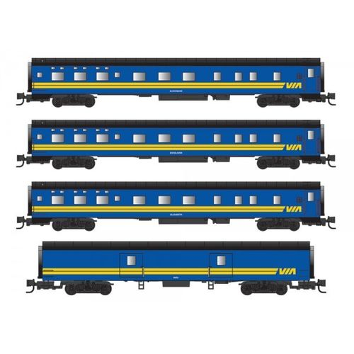 VIA Passenger Car 4-pack #2