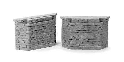 Cut Stone Bridge Abutments
