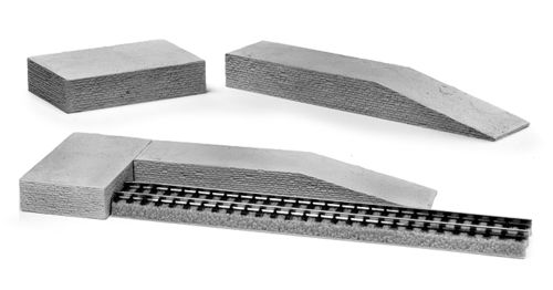 Brick Ramp And Platform Set (2 Piece Set)