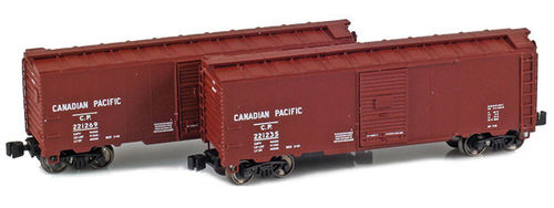Canadian Pacific 40' AAR boxcar 2pck.
