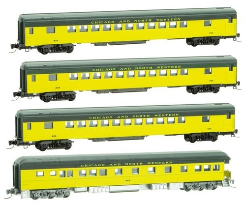 CNW Passenger Car 4-pack