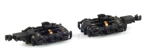 GP7 GP30 GP38 Truck Set Black