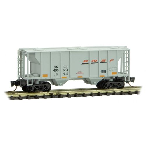 BNSF PS-2 Two-Bay Covered Hopper #405654