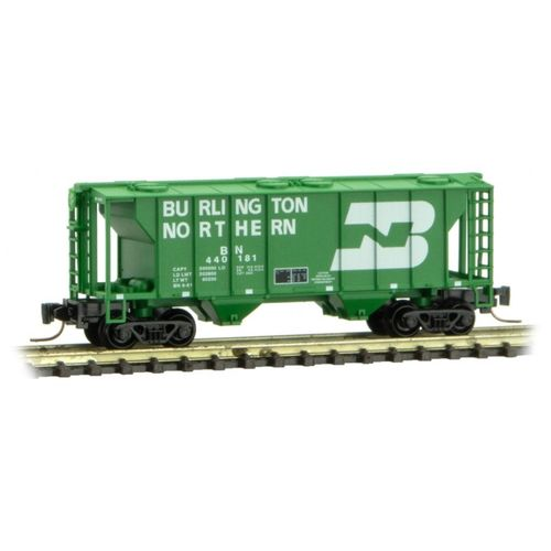 Burlington Northern PS-2 Two-Bay Covered Hopper #440193